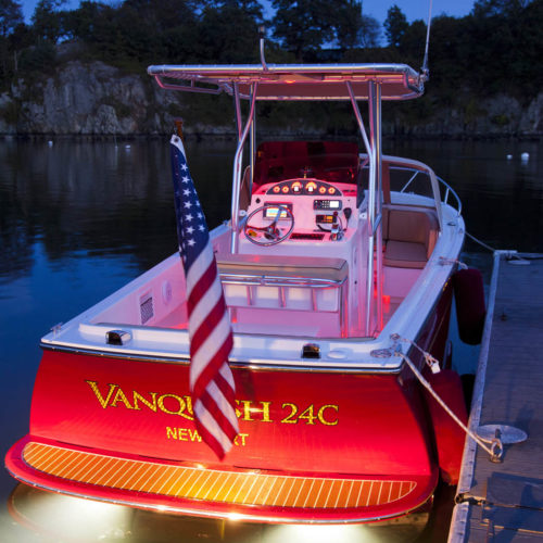 Vanquish 24C Doug Zurn design in Newport, RI.