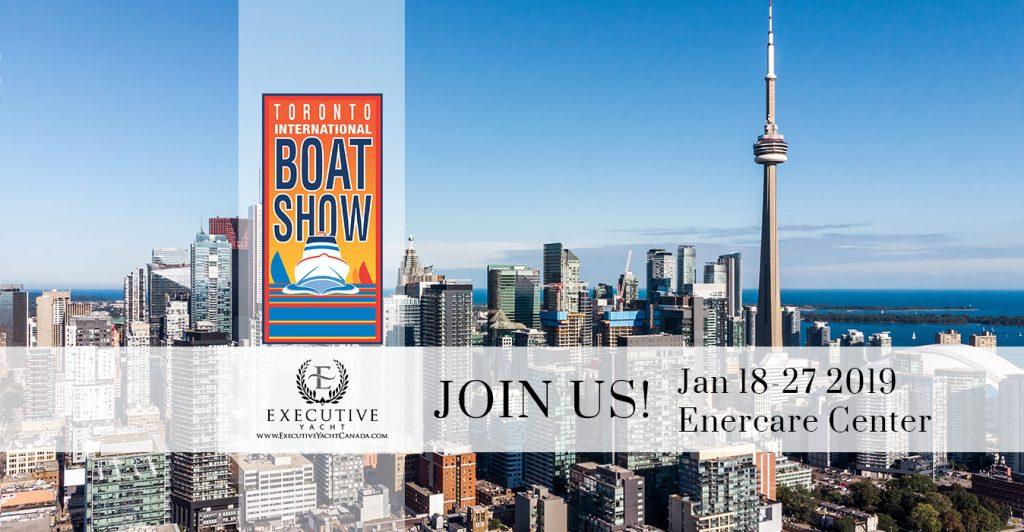 Toronto International Boat Show January 18-27, 2019