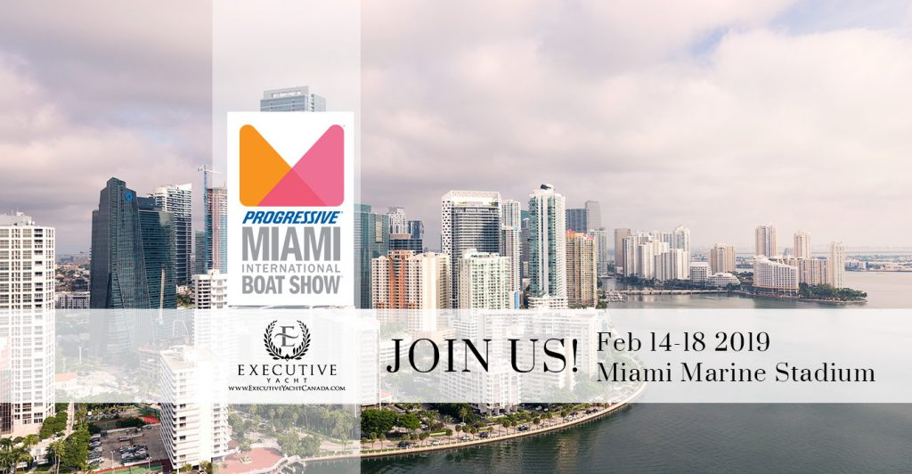 Miami International Boat Show February 14-18, 2019