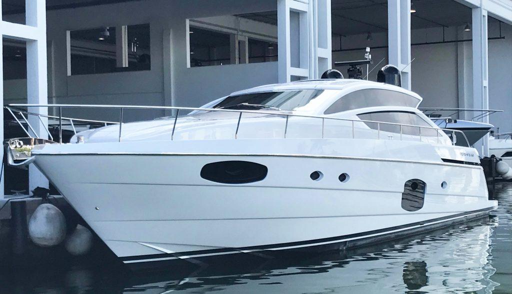Pershing 62 Luxury Yacht